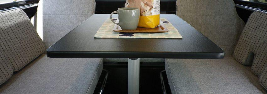 テーブル 脱着式(スライド機能付きΦ60) オプション